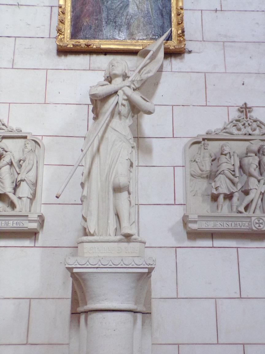 Bassac - L'abbaye Saint-Etienne - Jeanne d'Arc (18 août 2016)
