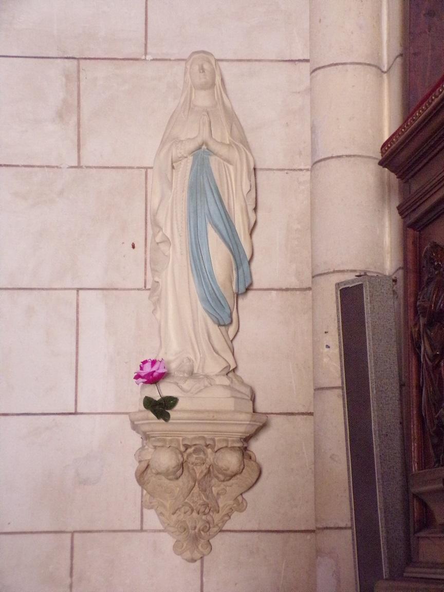Bassac - L'abbaye Saint-Etienne - Notre Dame de Lourdes (18 août 2016)