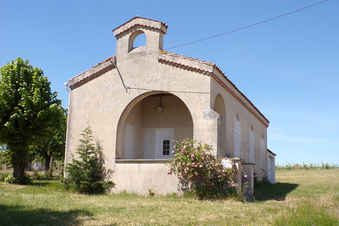 Bourg-Charente - L'ancien temple protestant (24 avril 2017)