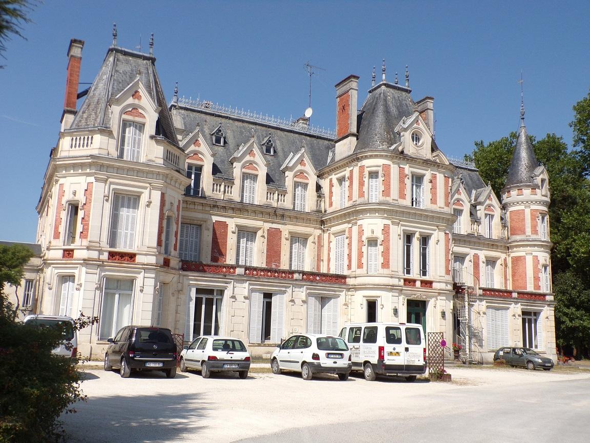 Bourg-Charente - Le château de Cressé (15 août 2016)