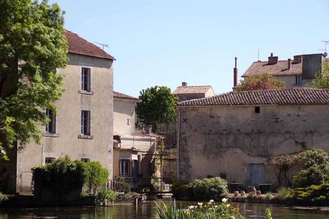 Bourg-Charente - Le moulin de Haut Veillard (24 avril 2017)