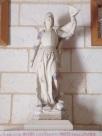 Bourg-Charente - L'église Saint Jean Baptiste - Jeanne d'Arc (18 août 2016)