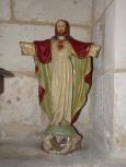 Bourg-Charente - L'église Saint Jean Baptiste - Le Sacré Coeur de Jésus (18 août 2016)
