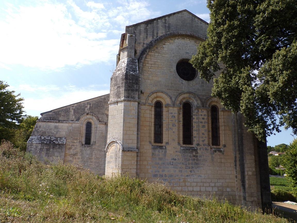 Bouteville - L'église Saint-Paul (8 septembre 2016)