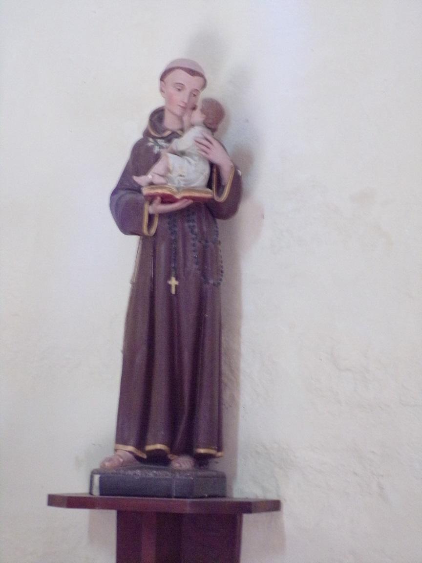 Chérac - L'église Saint-Gervais et Saint-Protais - Saint Antoine de Padoue (3 septembre 2016)