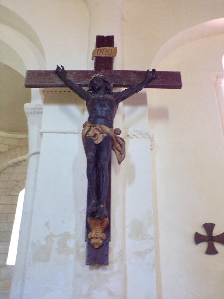 Chérac - L'église Saint-Gervais et Saint-Protais - Le Crucifix (3 septembre 2016)