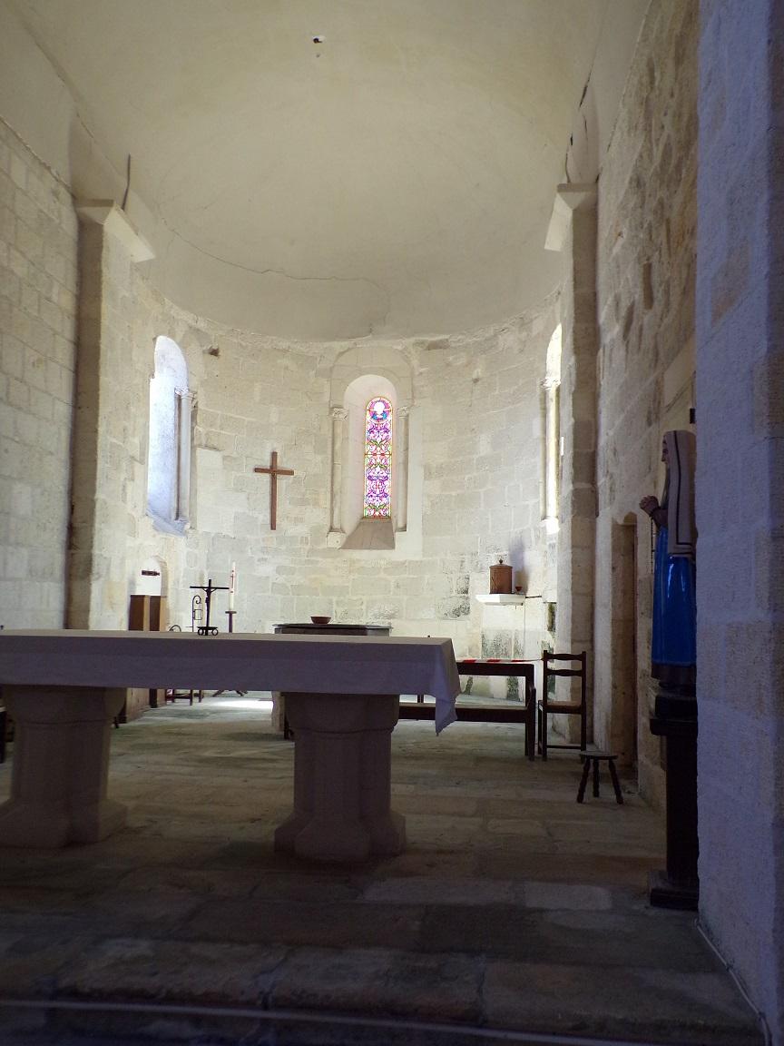 Chérac - L'église Saint-Gervais et Saint-Protais - Le Coeur (3 septembre 2016)