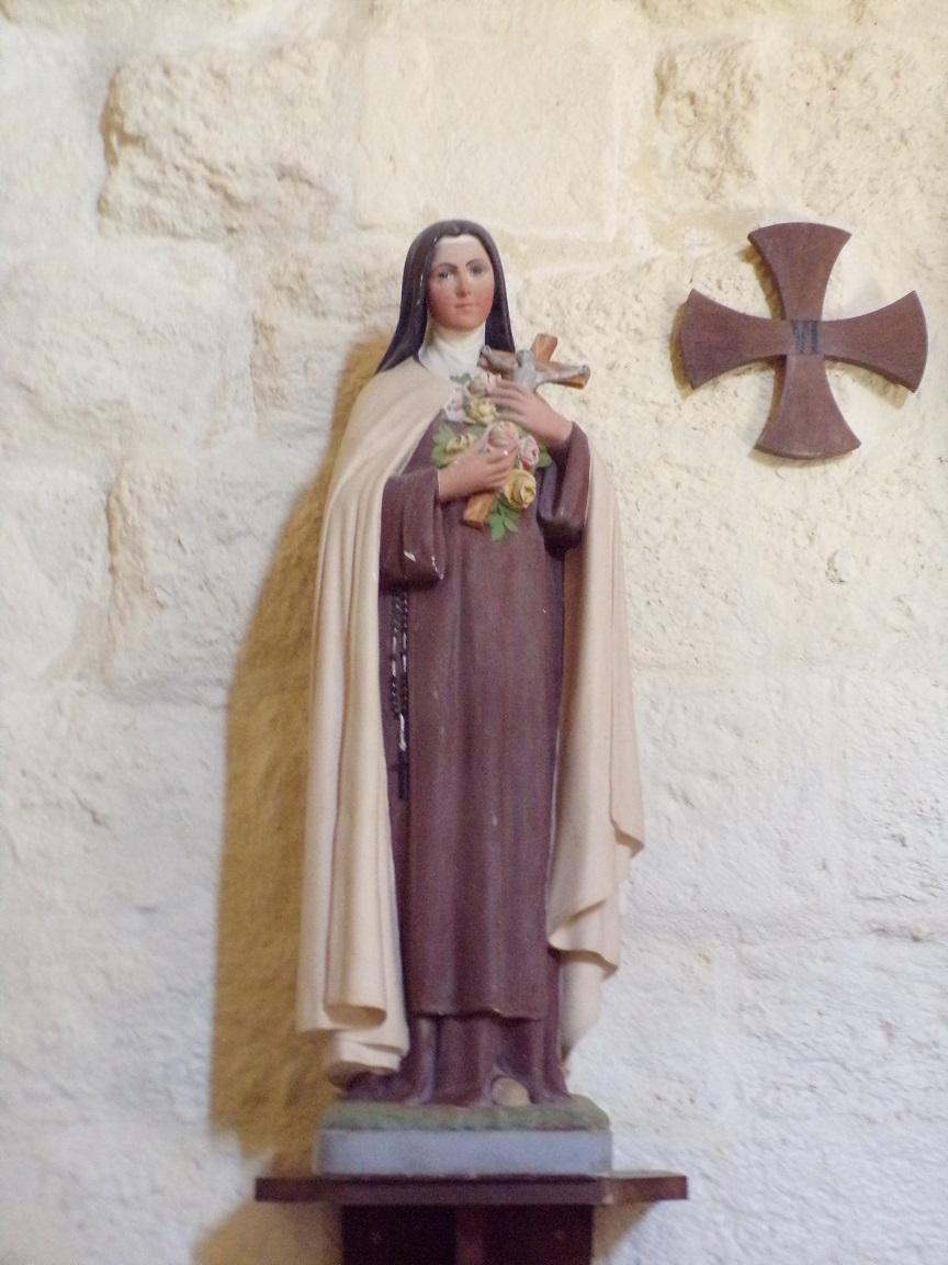 Chérac - L'église Saint-Gervais et Saint-Protais - Sainte Thérèse de Lisieux dite »Sainte Thérèse de l'Enfant Jésus » (3 septembre 2016)