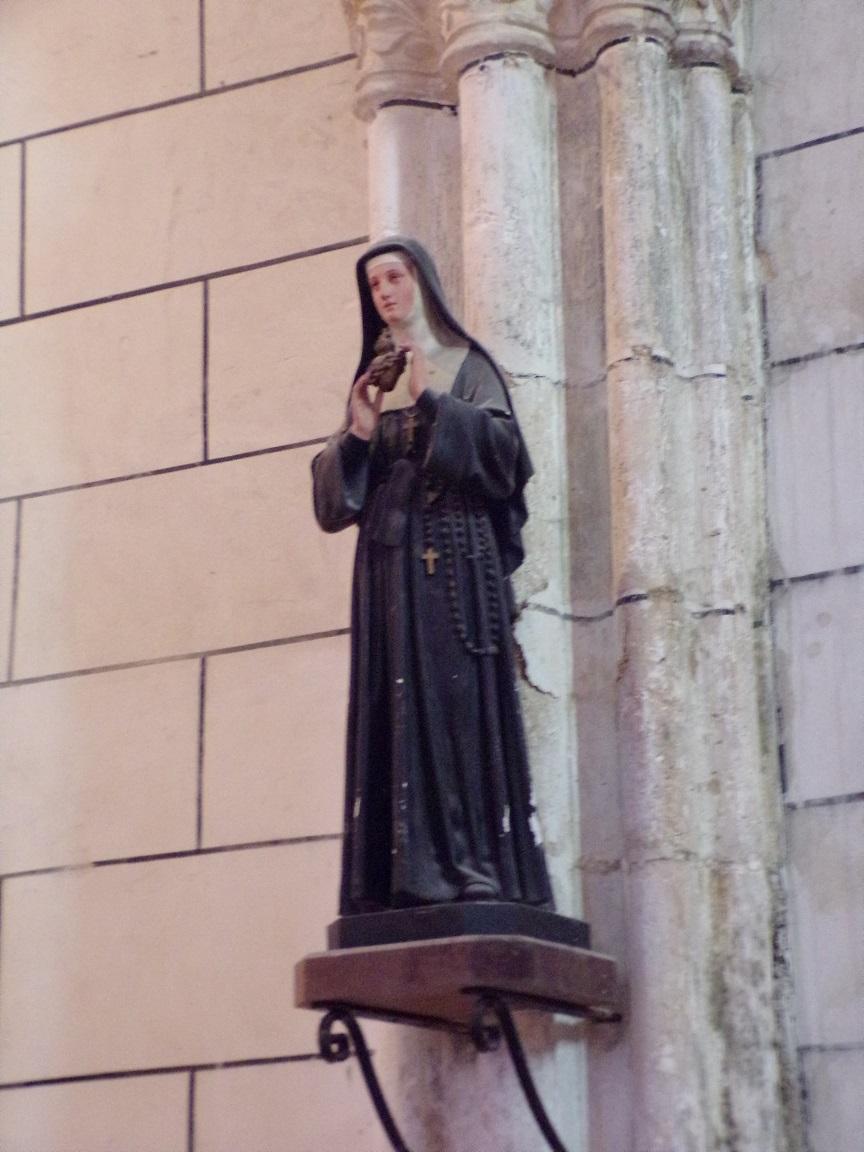 Genté - L'église Saint-Médard - Sainte Thérèse de Lisieux (18 septembre 2016)