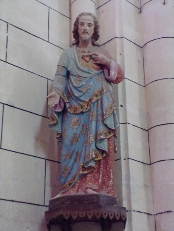 Genté - L'église Saint-Médard - Sacré Coeur de Jésus (18 septembre 2016)