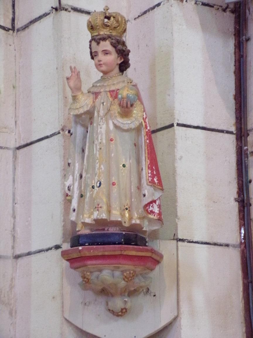 Genté - L'église Saint-Médard - L'Enfant Jésus (18 septembre 2016)