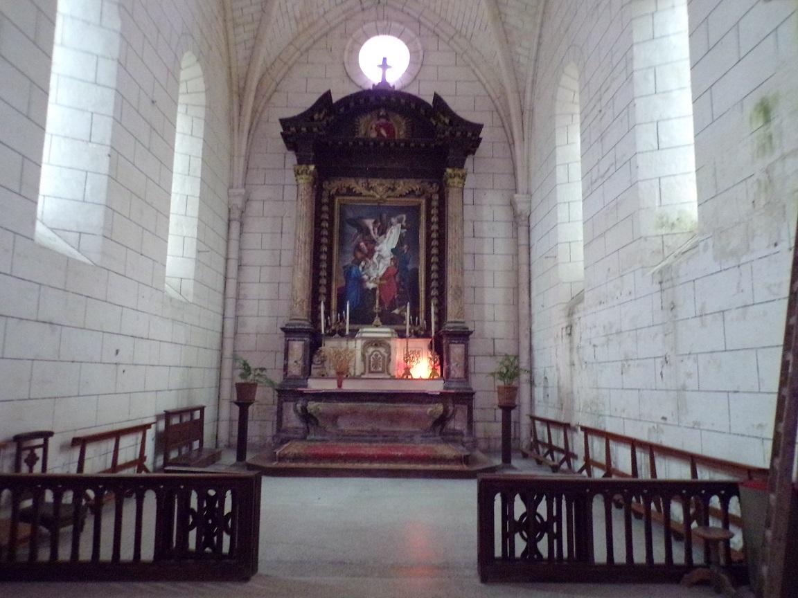 Genté - L'église Saint-Médard - Le choeur (18 septembre 2016)