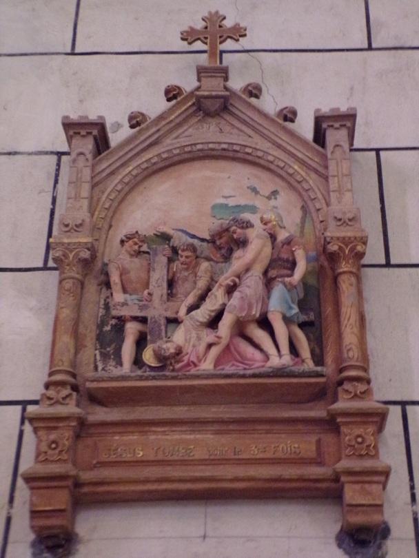 Genté - L'église Saint-Médard - Le chemin de croix (18 septembre 2016)