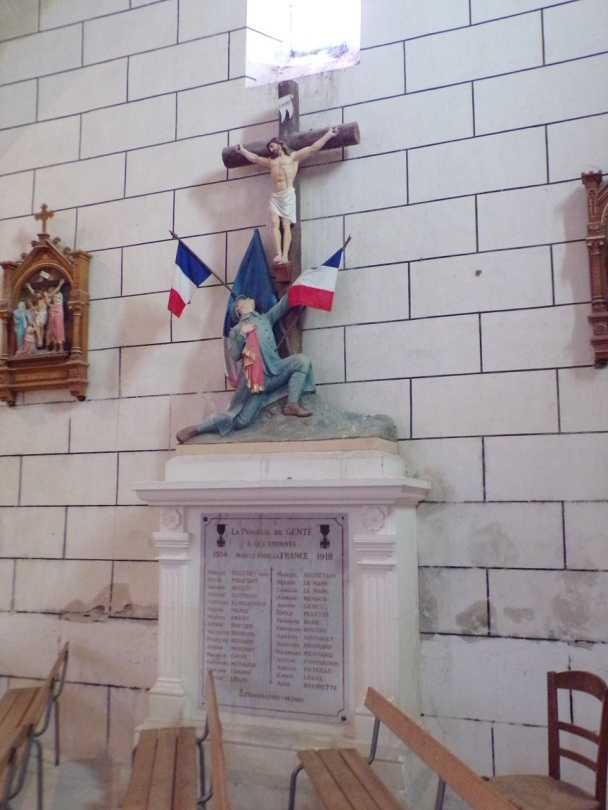 Genté - L'église Saint-Médard (18 septembre 2016)