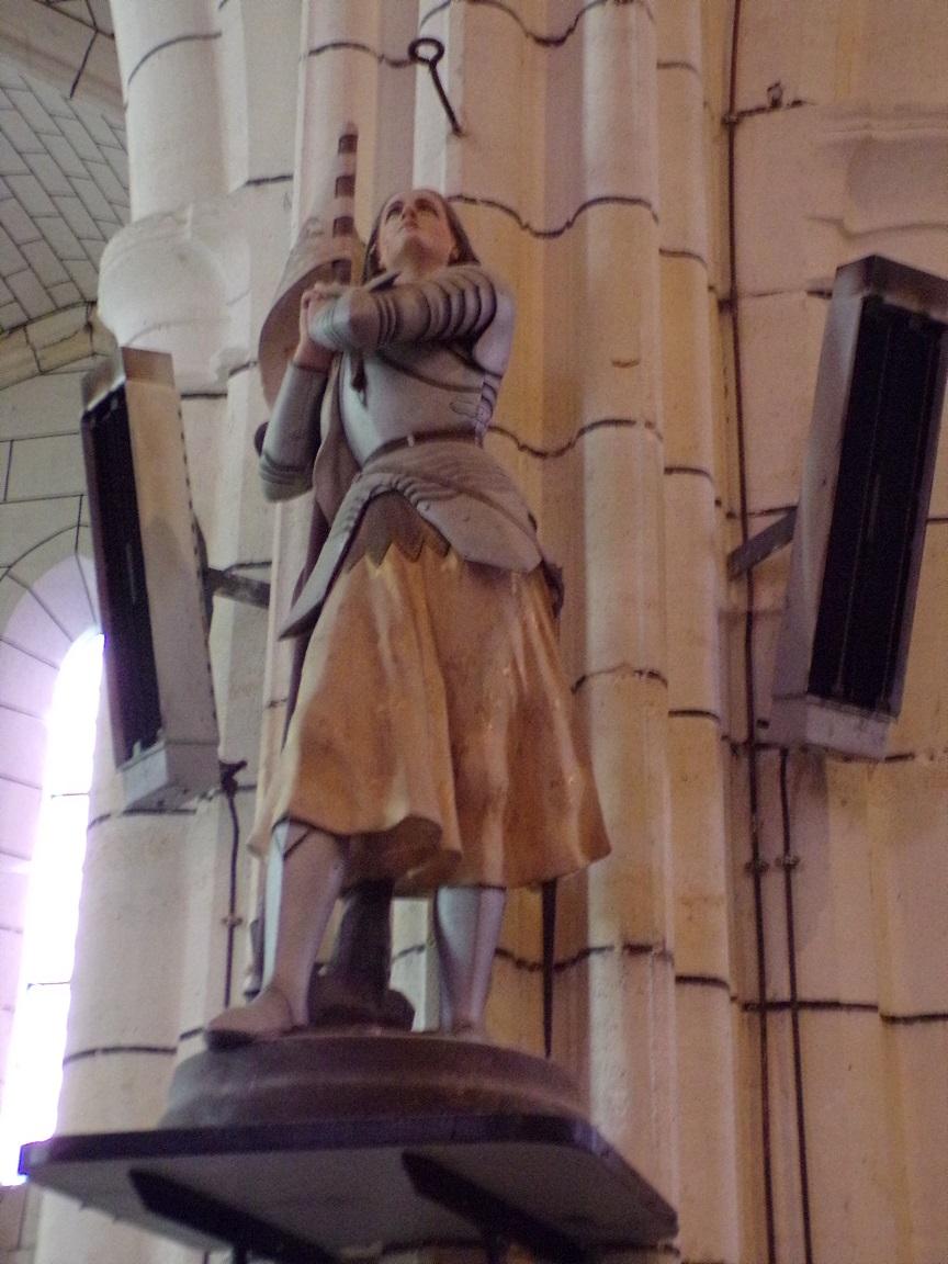 Genté - L'église Saint-Médard - Jeanne d'Arc (18 septembre 2016)