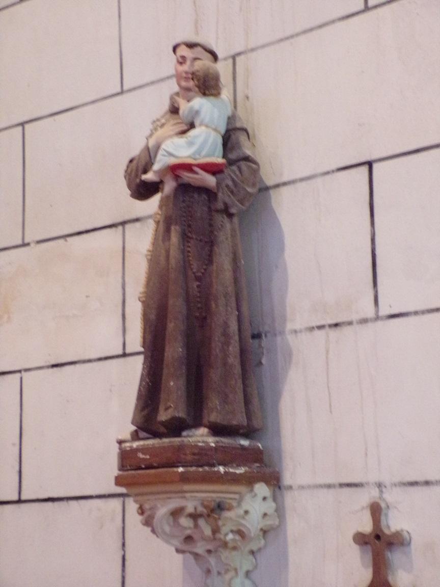 Genté - L'église Saint-Médard - Saint Antoine de Padoue (18 septembre 2016)
