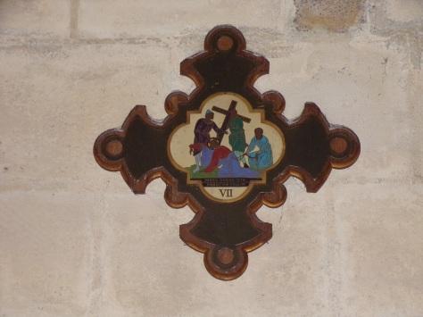 rue Aristide Briand - L'église Saint-Léger - Le chemin de croix (25 février 2019)