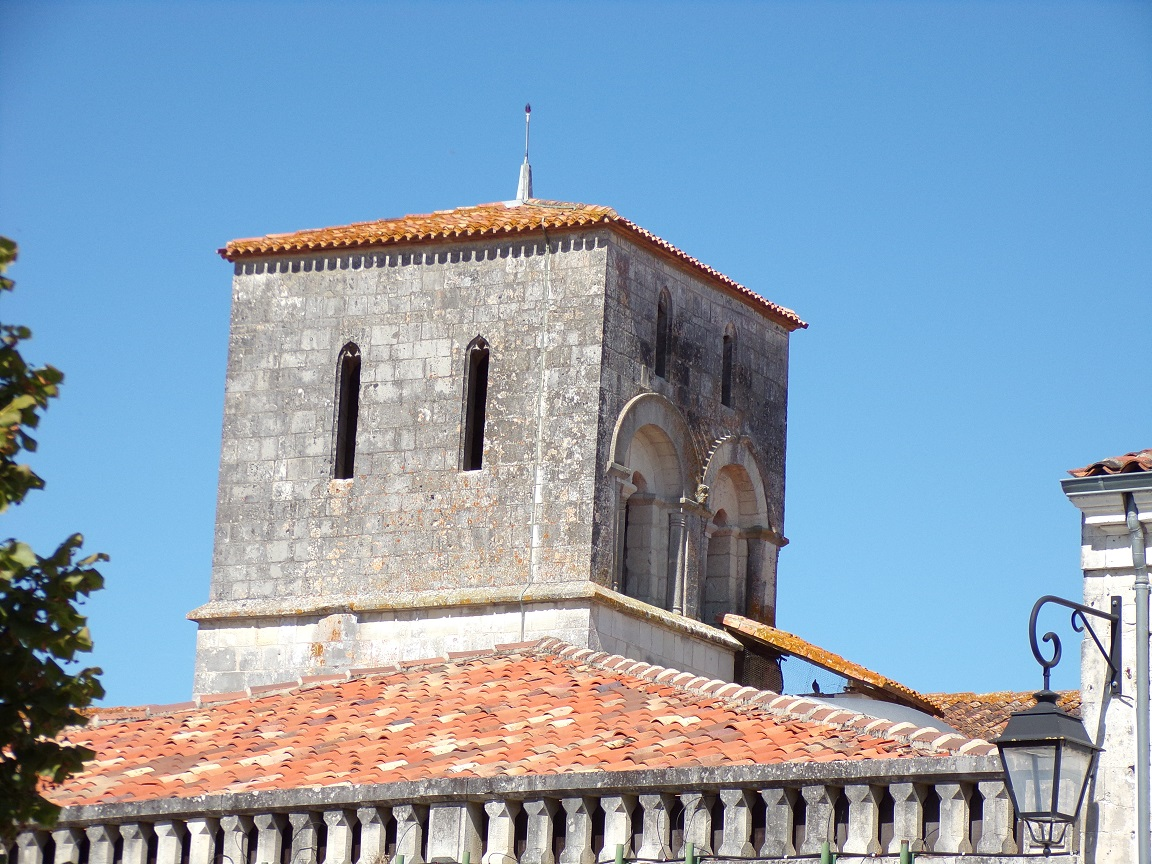 Chérac - L'église Saint-Gervais (3 septembre 2016)