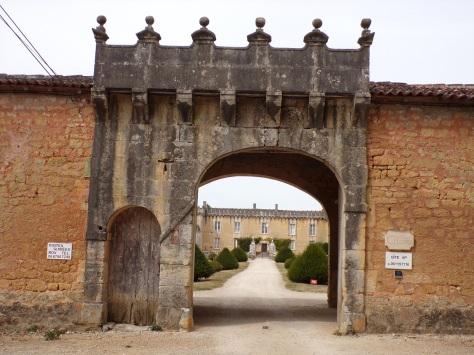 Cherves-Richemont - Le château de Chesnel (4 septembre 2016)