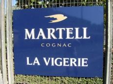 Distillerie d'eau-de-vie de cognac J. et F. Martell (21 août 2015)