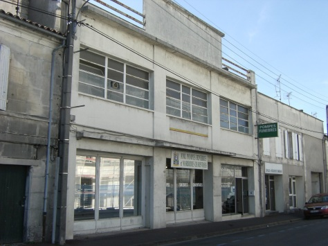 Distillerie Eugène Bureau, puis garage Degabriel (20 août 2015)