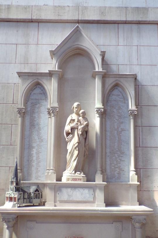 Église Saint-Martin, du Sacré-Coeur (17 juin 2017)