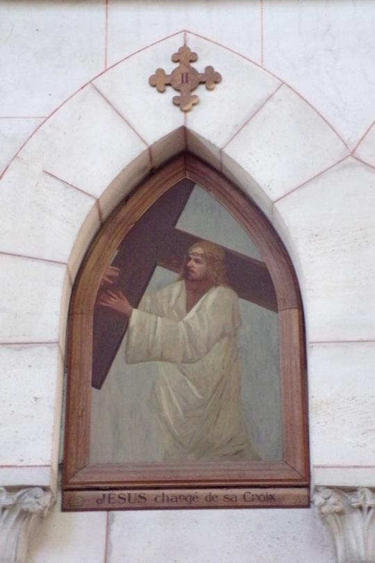 Église Saint-Martin, du Sacré-Coeur - Le chemin de croix (17 juin 2017)