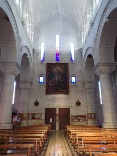 Eglise Saint Antoine - Vue de l'autel (28 janvier 2017)