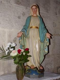L'église Saint-Jacques – La Vierge Marie (12 février 2019)