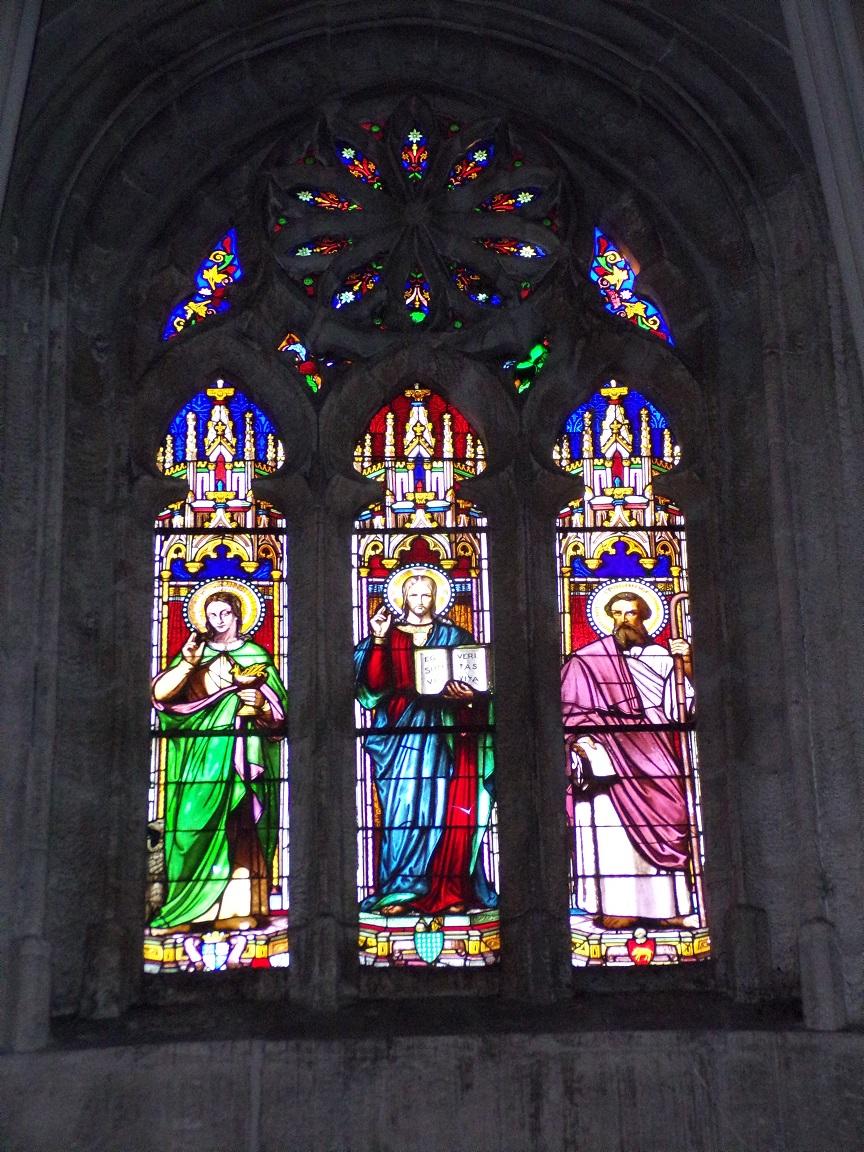 L'église Saint-Jacques – Les vitraux 'Ego sum via veritas vita' (12 février 2019)