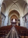 rue Aristide Briand - L'église Saint-Léger - Vue de l'entrée (13 août 2016)