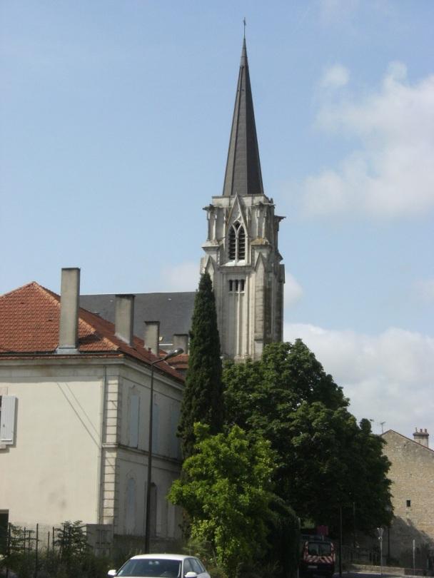 Église Saint-Martin, du Sacré-Coeur (13 juillet 2015)