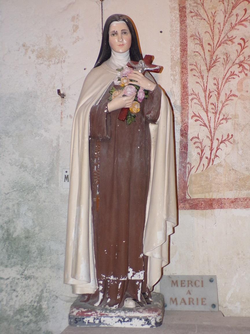 """Graves-Saint-Amant - L'église Saint-Martin - Sainte Thérèse de Lisieux dite """"Sainte Thérèse de l'Enfant Jésus"""" (21 septembre 2019)"""