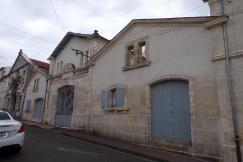 Etablissement anciennement, E. Neiraud et Cie, 138, rue Henri Fichon - décor de l'entrée (9 mars 2017)
