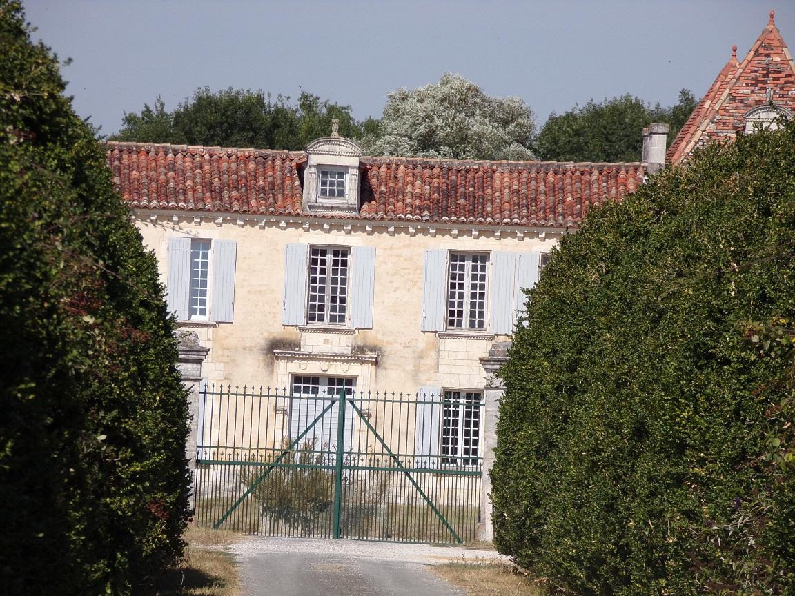 Gensac-la-Pallue - Le logis de L'Eclopart (12 septembre 2016)