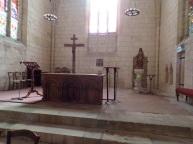 Gensac-la-Pallue - L'église Saint-Martin - Le Choeur (15 août 2016)