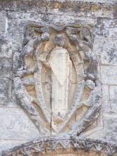 Gensac-la-Pallue - L'église Saint-Martin - Saint Martin en Evêque de l'église (15 août 2016)