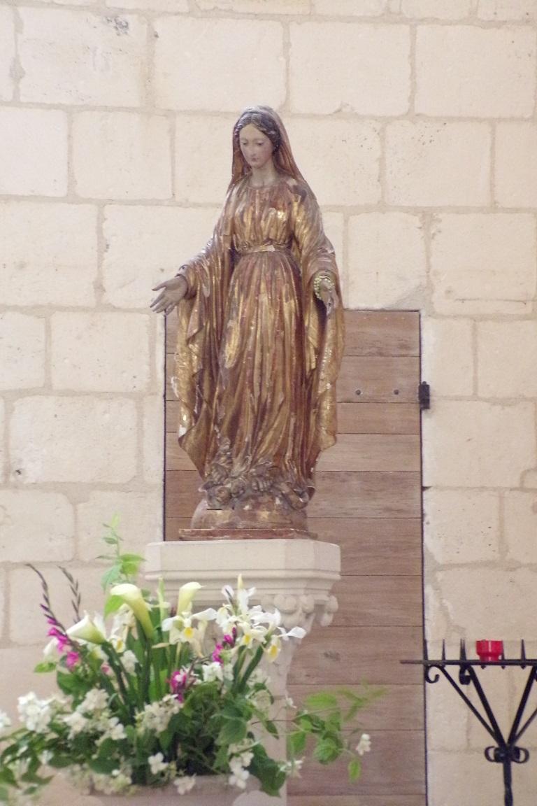 Gensac-la-Pallue - L'église Saint-Martin (8 août 2017)