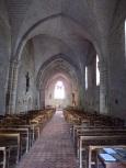 Jarnac - L'église Saint-Pierre - Vue de l'entrée (21 septembre 2016)