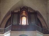 Jarnac - L'église Saint-Pierre - L'orgue (21 septembre 2016)