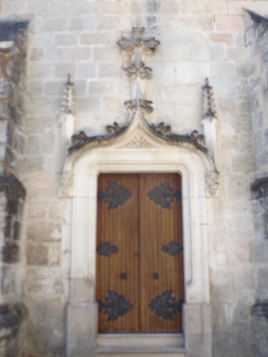 Jarnac - L'église Saint-Pierre - Petite Porte (2 juin 2019)