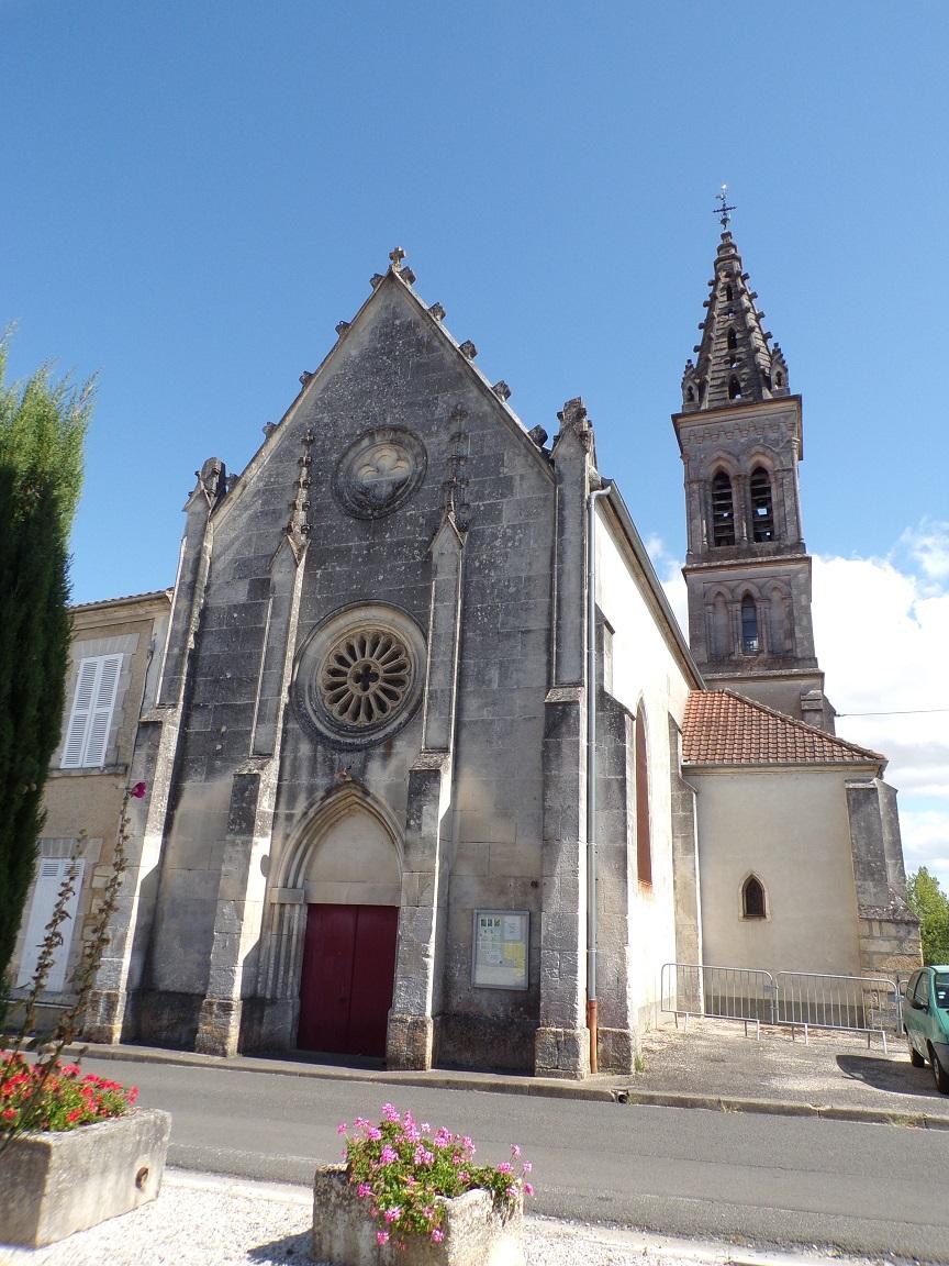 Javrezac - L'église Saint-Pierre (28 août 2016)