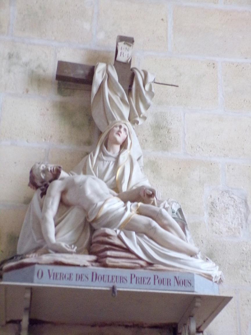 Juillac-le-Coq - L'église Saint-Martin - 'O Vierge des Douleurs Priez Pour Nous' (18 septembre 2016)