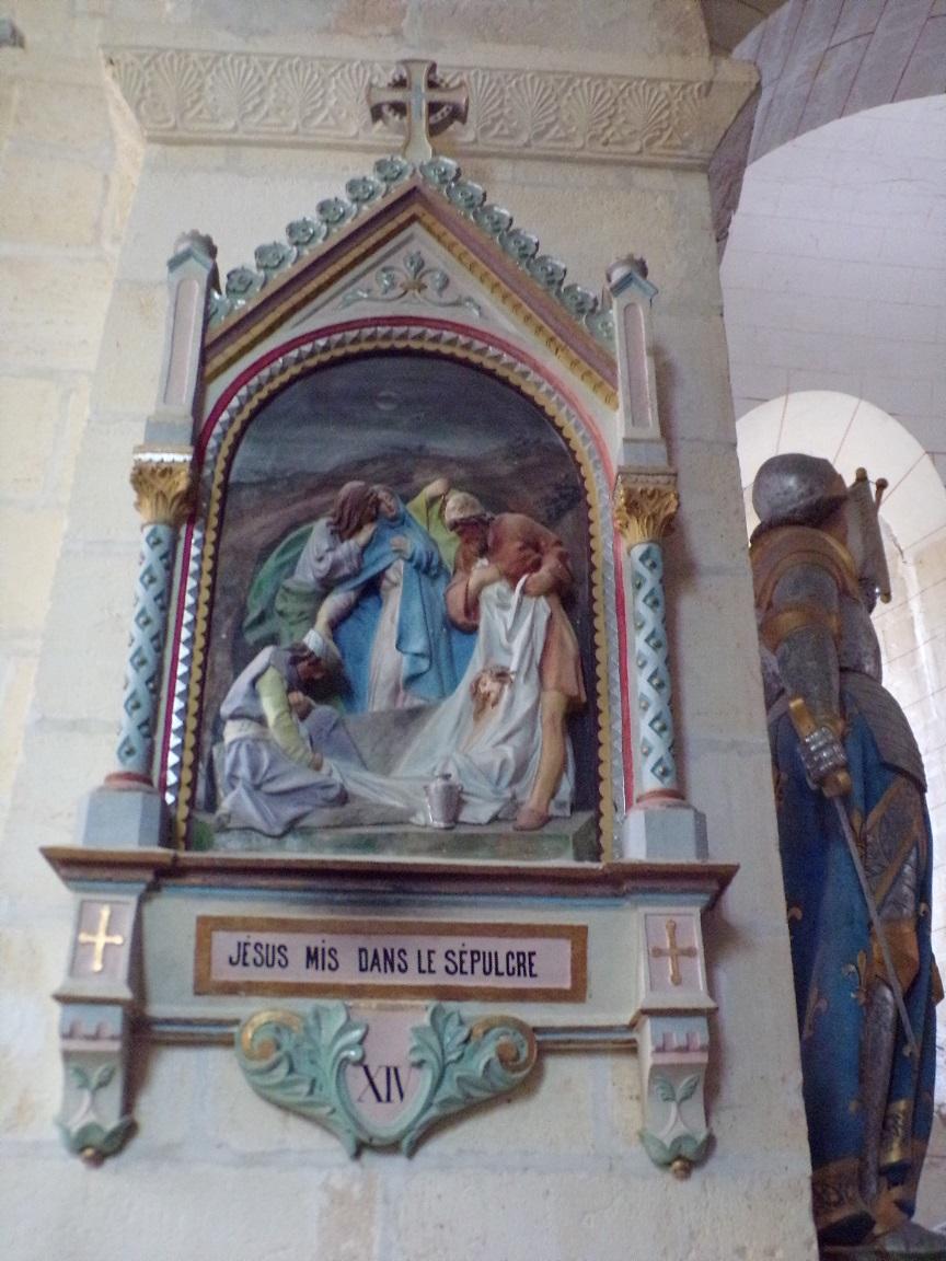 Juillac-le-Coq - L'église Saint-Martin - Le chemin de croix (18 septembre 2016)