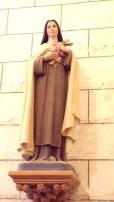 Nercillac - L'église Saint-Germain - Sainte Thérèse de Lisieux dite »Sainte Thérèse de l'Enfant Jésus » (10 avril 2018)