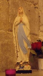Nercillac - L'église Saint-Germain - Vierge Miraculeuse (10 avril 2018)