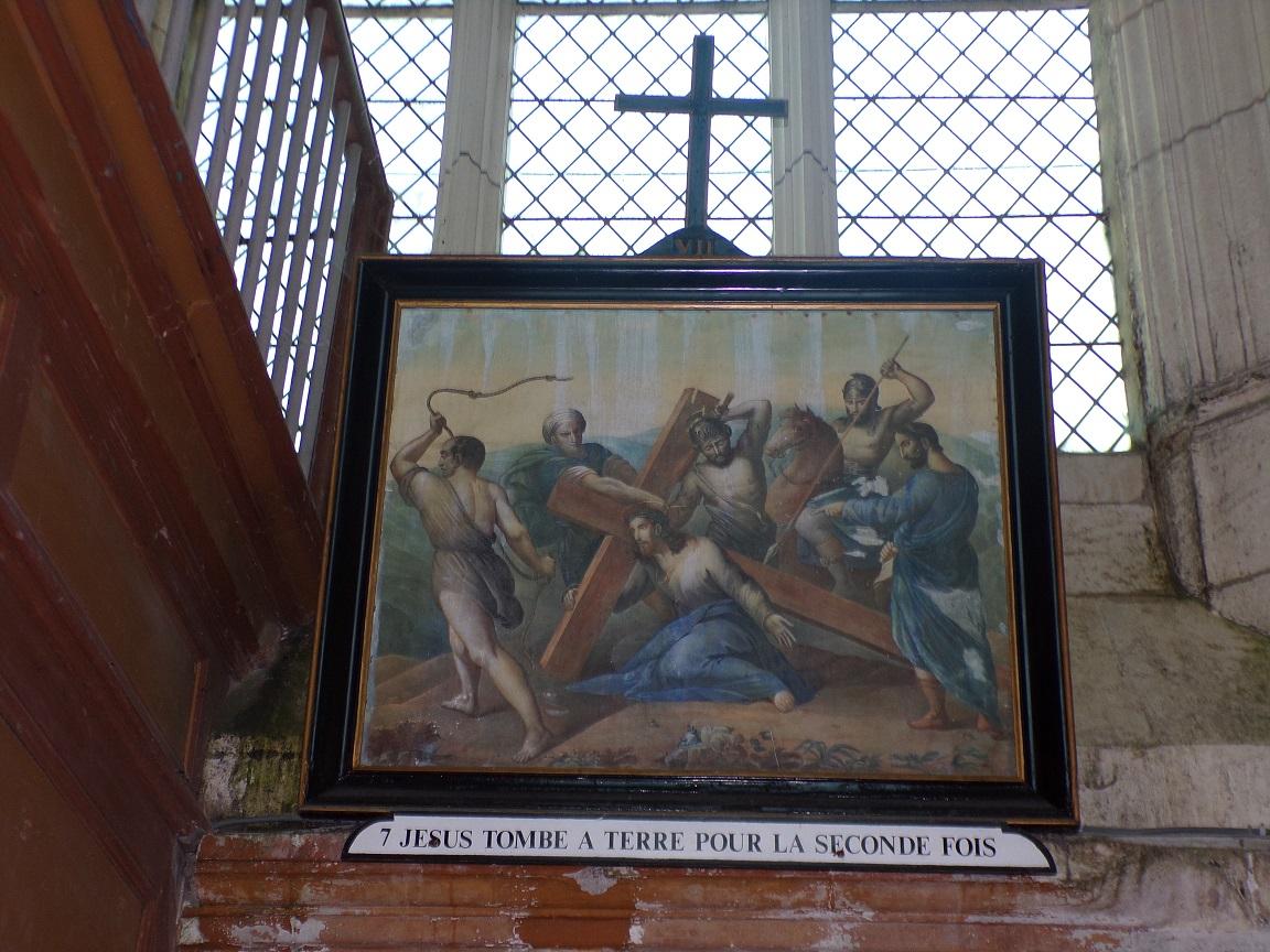 Lonzac - L'église Notre-Dame - Le chemin de croix (8 juillet 2018)