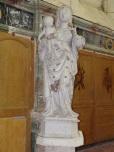 Lonzac - L'église Notre-Dame - Vierge à l'Enfant (8 juillet 2018)