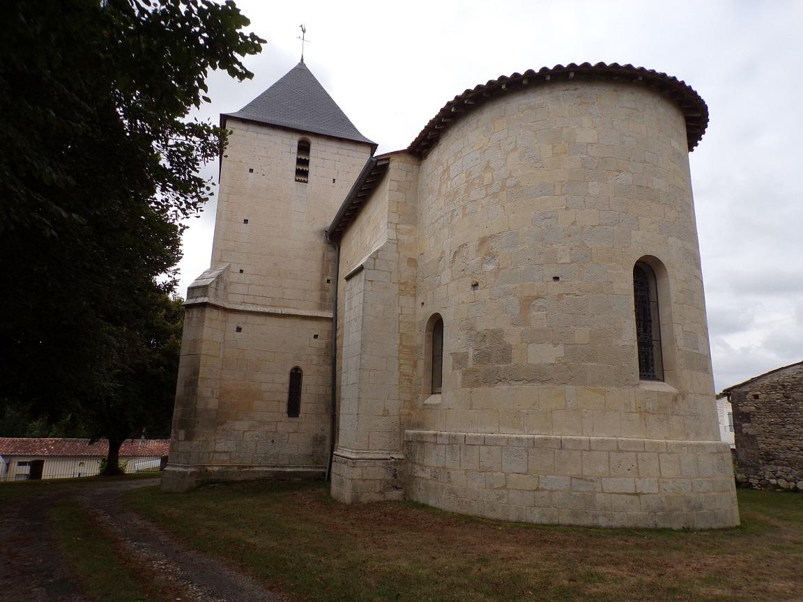 Louzac - L'église Saint-Martin (18 septembre 2016)