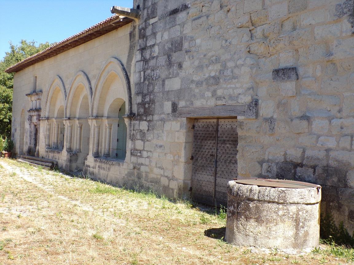 Merpins - L'abbaye Notre-Dame de la Frenade (24 août 2016)